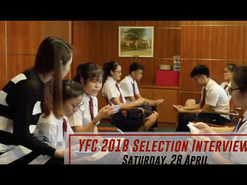 YFC 2018 Selection Interview: Highlights
